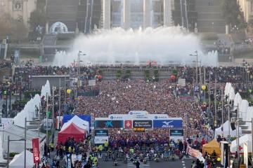 Entrenamientos para la Marató de Barcelona