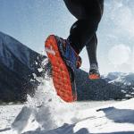Mantener los pies calientes en carrera