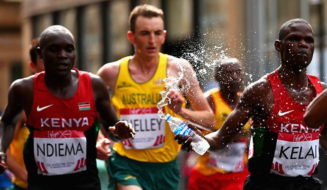 Consejos para una buena hidratación en Maraton